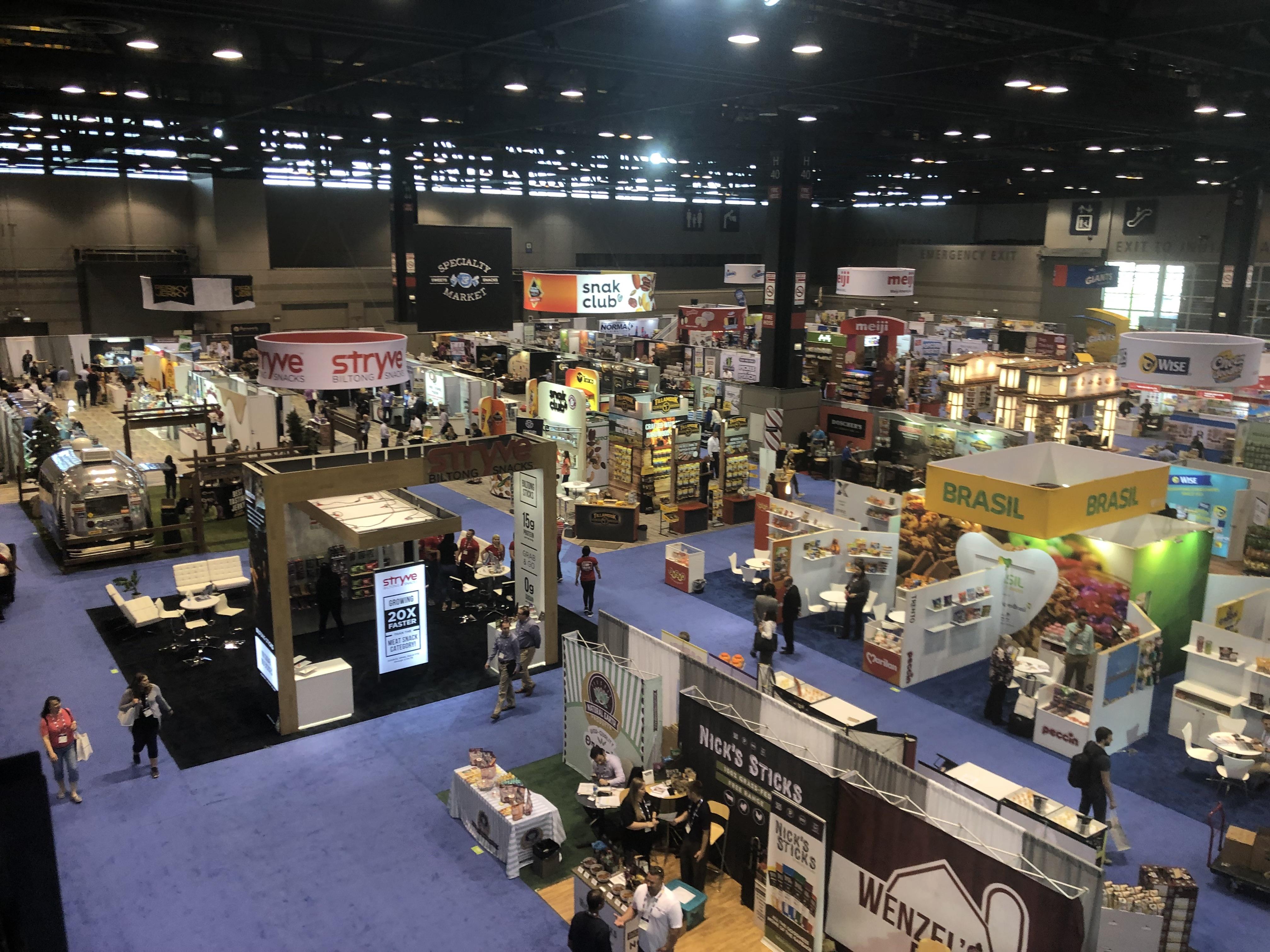[:pb]Lançamentos, produtos tradicionais e sabores típicos no Pavilhão Brasil na Sweets and Snacks Expo 2019[:]